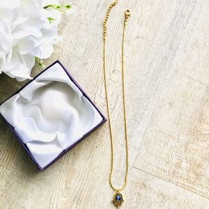 New Handmade 18K Gold Plated Necklace Luck Pendant